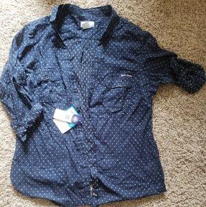 Columbia Notre Dame long sleeve shirt